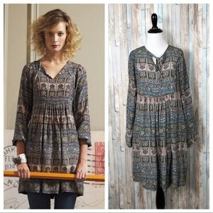 Anthropologie S First Whispering Peasant Dress